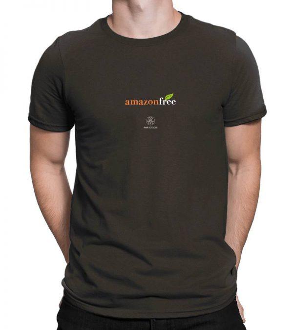 T-shirt uomo amazon free - urban black