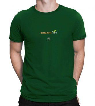 T-shirt uomo amazon free - verde bottiglia